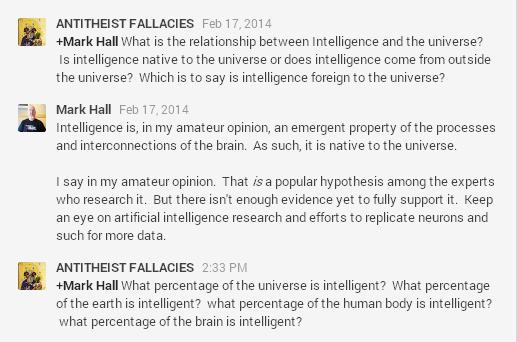 This is how you debate an atheist.