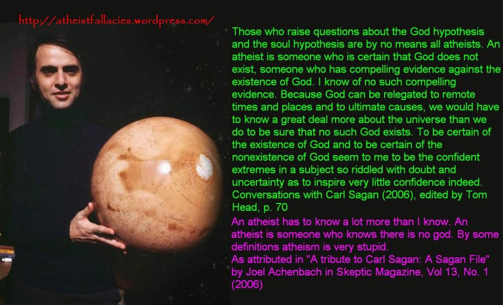 thesis statement on the existence of god