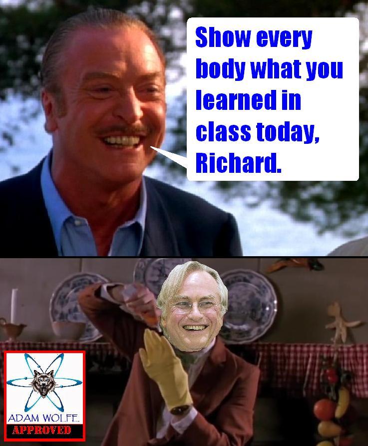 Richard the monkey boy.