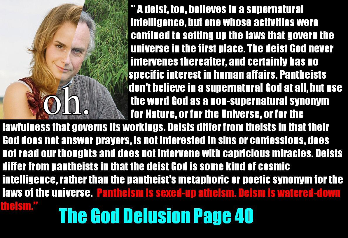 Conflate Much False Dichotomy Atheist Logic Fail
