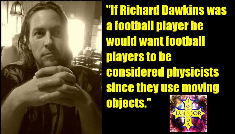 If Richard Dawkins were a football player...