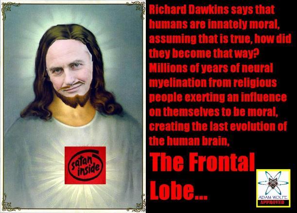 Richard Dawkins is a troll...